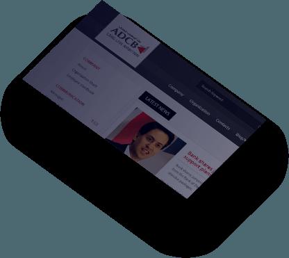 adcb web design